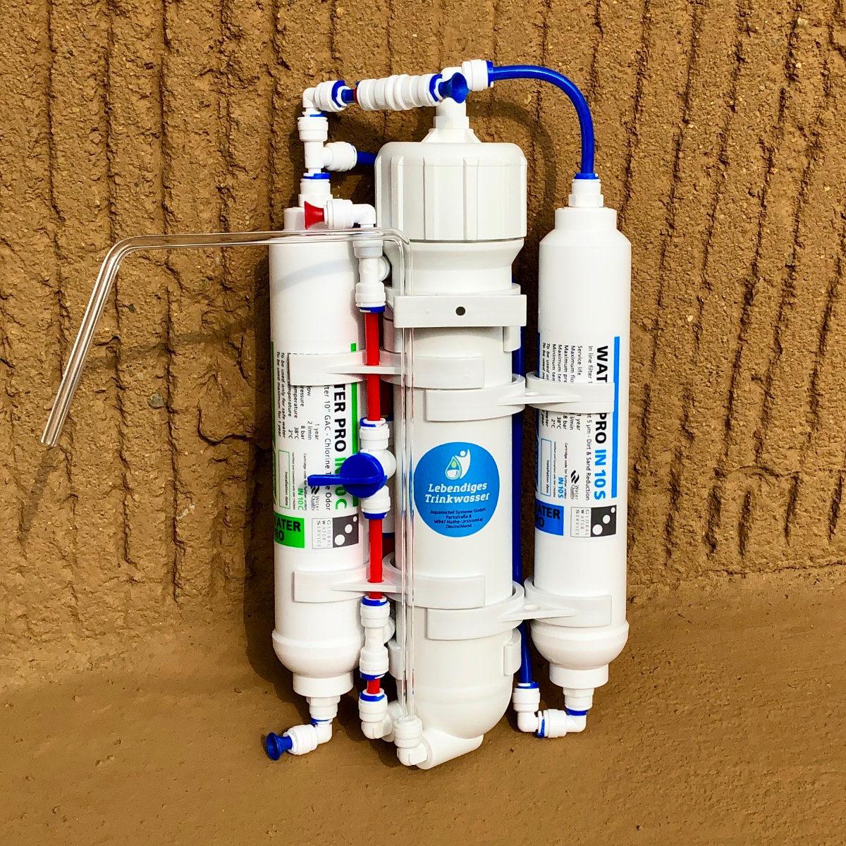 Aquamichel Mini – Teileset zum selber bauen on