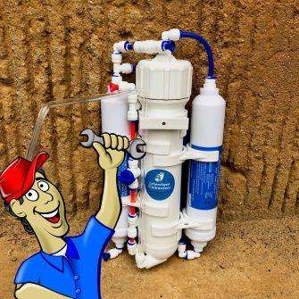 Wasserfilter selber bauen