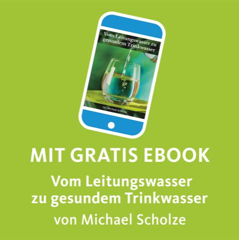 Alladin Karaffe mit eBook
